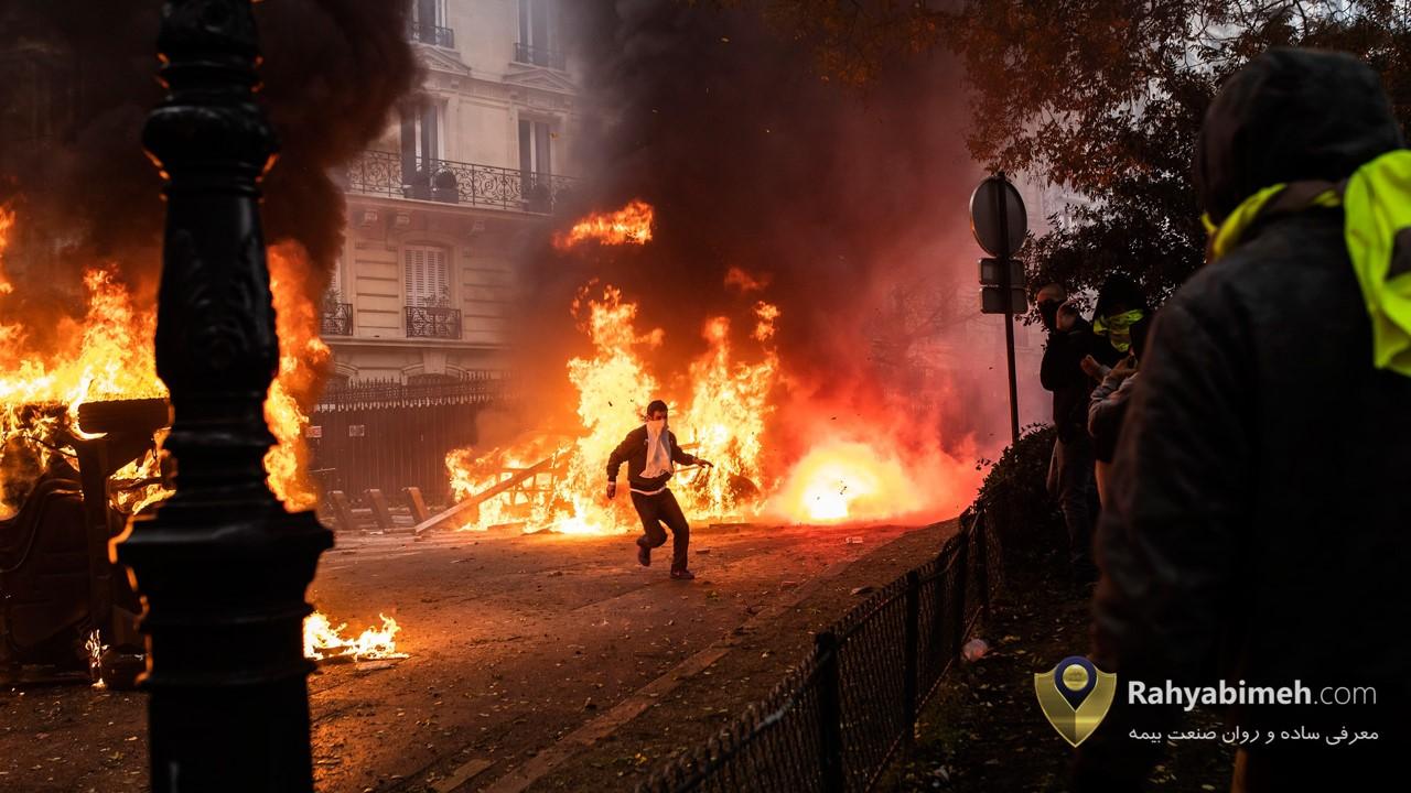 پوشش شورش و آشوب