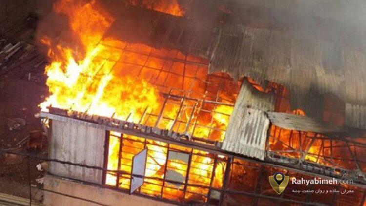 بیمه آتش سوزی کارگاه نجاری